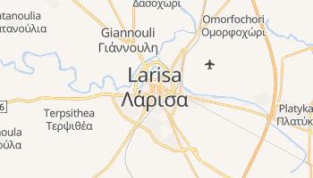 Larisa - szczegółowa mapa Google