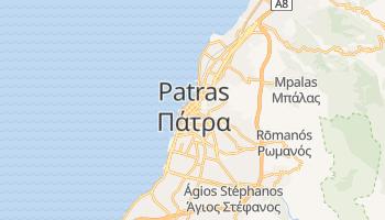 Patras - szczegółowa mapa Google