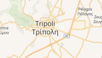 Tripolis - szczegółowa mapa Google