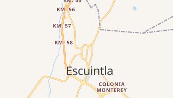 Escuintla - szczegółowa mapa Google