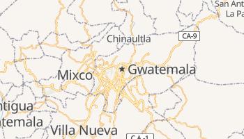 Gwatemala - szczegółowa mapa Google