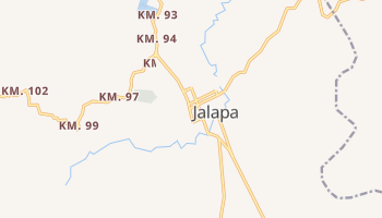 Jalapa - szczegółowa mapa Google