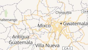 Mixco - szczegółowa mapa Google