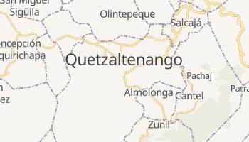 Quetzaltenango - szczegółowa mapa Google