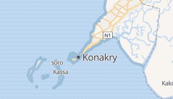 Konakry - szczegółowa mapa Google