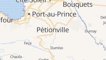 Pétionville - szczegółowa mapa Google