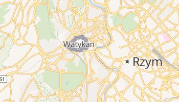 Watykan - szczegółowa mapa Google