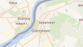 Ostrzyhom - szczegółowa mapa Google