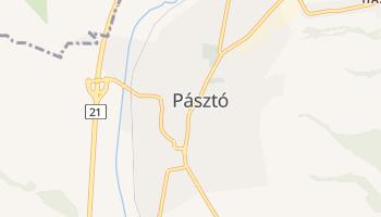 Pásztó - szczegółowa mapa Google