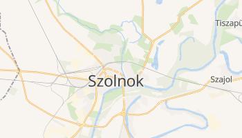 Szolnok - szczegółowa mapa Google