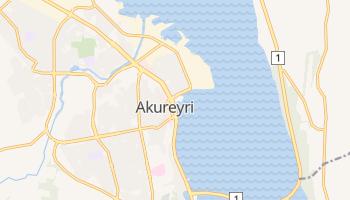 Akureyri - szczegółowa mapa Google