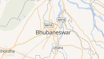 Bhubaneśwar - szczegółowa mapa Google