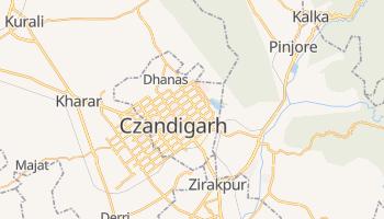 Czandigarh - szczegółowa mapa Google