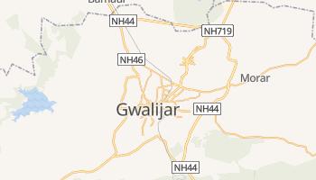Gwalior - szczegółowa mapa Google