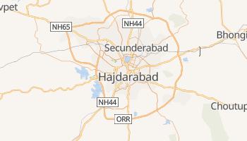 Hyderabad - szczegółowa mapa Google