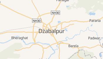 Dżabalpur - szczegółowa mapa Google