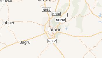 Dźajpur - szczegółowa mapa Google