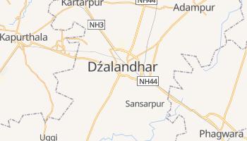 Dźalandhar - szczegółowa mapa Google