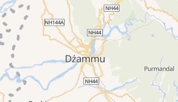 Dżammu - szczegółowa mapa Google