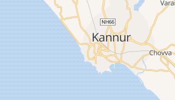Kannanur - szczegółowa mapa Google