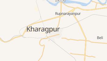 Kharagpur - szczegółowa mapa Google