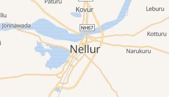 Nellur - szczegółowa mapa Google