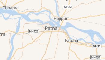 Patna - szczegółowa mapa Google