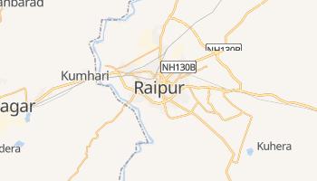 Raipur - szczegółowa mapa Google