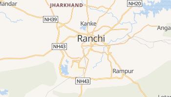 Ranchi - szczegółowa mapa Google