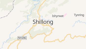 Shillong - szczegółowa mapa Google