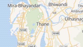 Thane - szczegółowa mapa Google