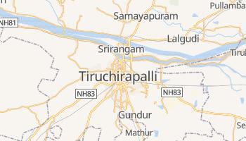 Tiruchirapalli - szczegółowa mapa Google