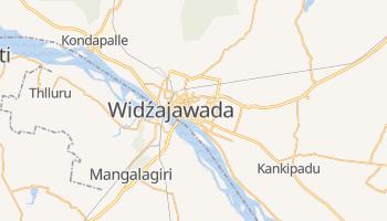 Widźajawada - szczegółowa mapa Google
