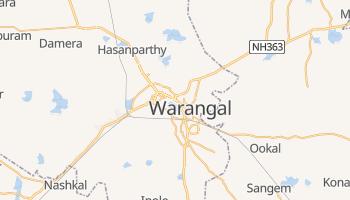Warangal - szczegółowa mapa Google