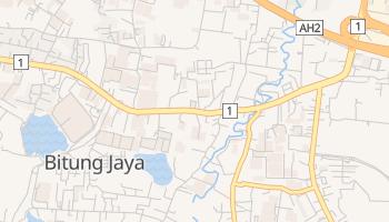 Bitung - szczegółowa mapa Google