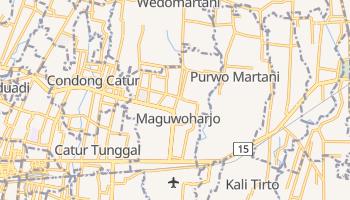 Depok - szczegółowa mapa Google