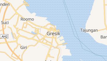 Gresik - szczegółowa mapa Google