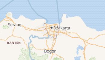 Dżakarta - szczegółowa mapa Google