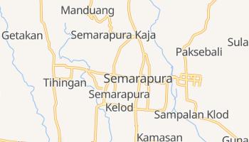 Klungkung - szczegółowa mapa Google