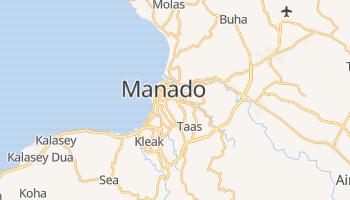 Manado - szczegółowa mapa Google