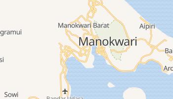 Manokwari - szczegółowa mapa Google