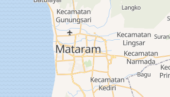 Mataram - szczegółowa mapa Google