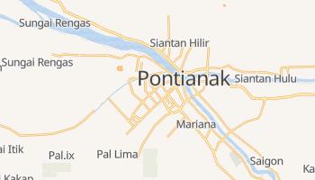 Pontianak - szczegółowa mapa Google