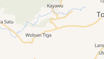 Tomohon - szczegółowa mapa Google