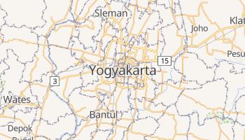 Yogyakarta - szczegółowa mapa Google