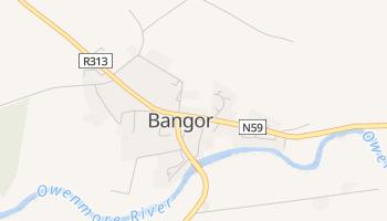 Bangor - szczegółowa mapa Google