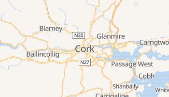 Cork - szczegółowa mapa Google