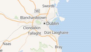 Dublin - szczegółowa mapa Google