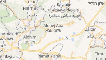 Betlejem - szczegółowa mapa Google