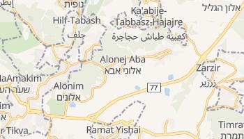 Bet Szemesz - szczegółowa mapa Google